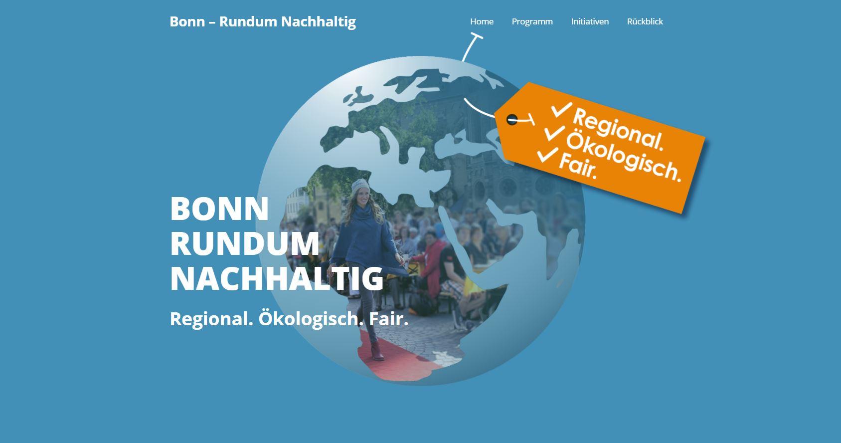 Bonn – Rundum Nachhaltig Website