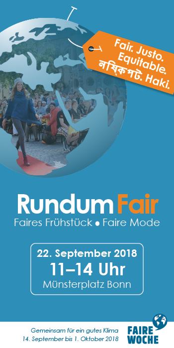 Rundum Fair – Flyer (Vorderseite)