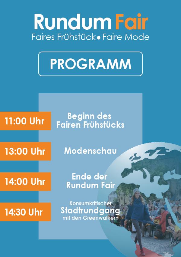 Rundum Fair-Plakat (Programm)